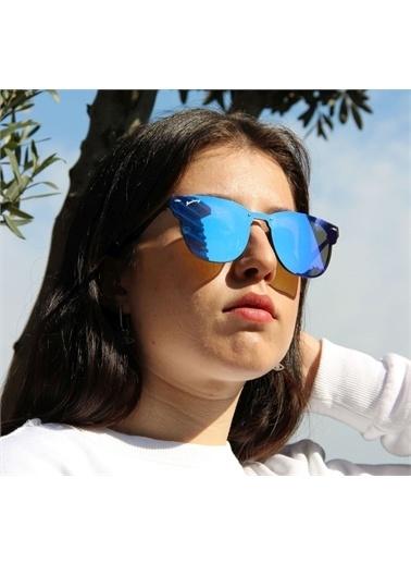Mustang  Mu 1751 02 Kadın Güneş Gözlüğü Mavi